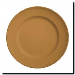 assiette feston simple  Paon faisant la roue